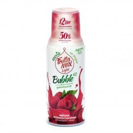 Frutta Max LIGHT Bubble málna gyümölcsszörp 500 ml 1/8