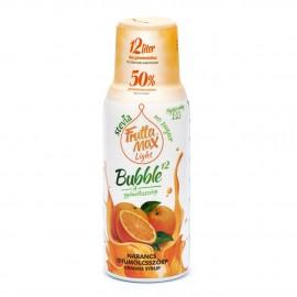 Frutta Max LIGHT Bubble narancs gyümölcsszörp 500 ml 1/8