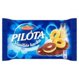 Győri Pilóta vaniliás karika tej 150g 1/24