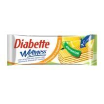 Diabette Wellness citromos töltött ostya 50g 1/20
