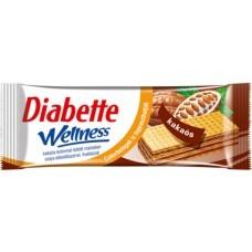 Diabette Wellness kakaós mártatlan ostya 50g 1/20