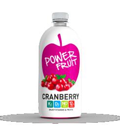 Power Fruit Vörösáfonya 750ml