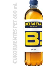 Bomba! Classic PET palack 600ml 1/12