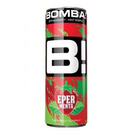 Bomba! Eper-menta 250ml fémdoboz 1/24