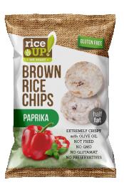 Rice Up! paprikás rizs chips 60g