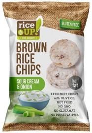 Rice Up! hagymás-tejfölös rizs chips 60g