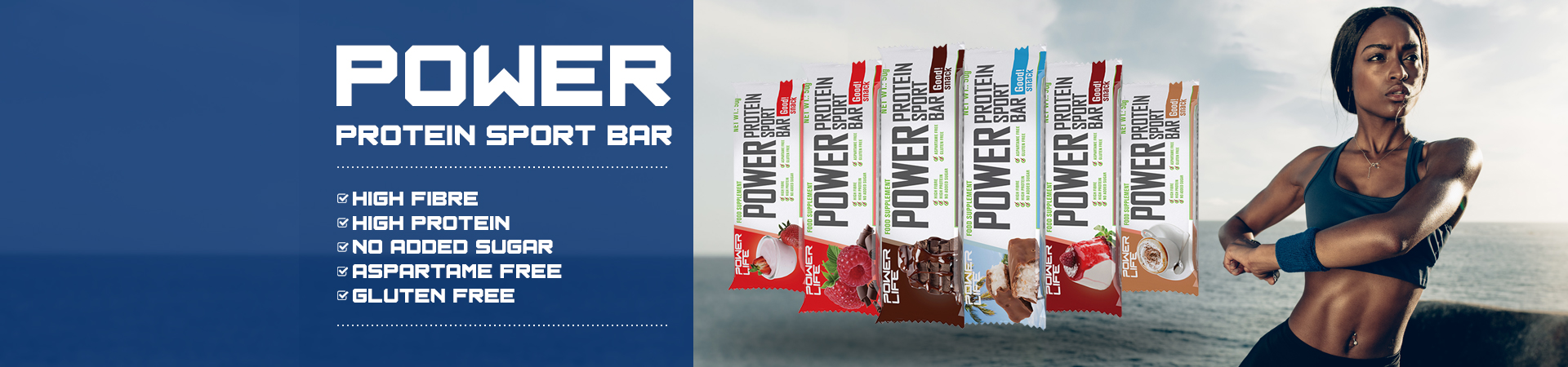 Power protein sport bar
