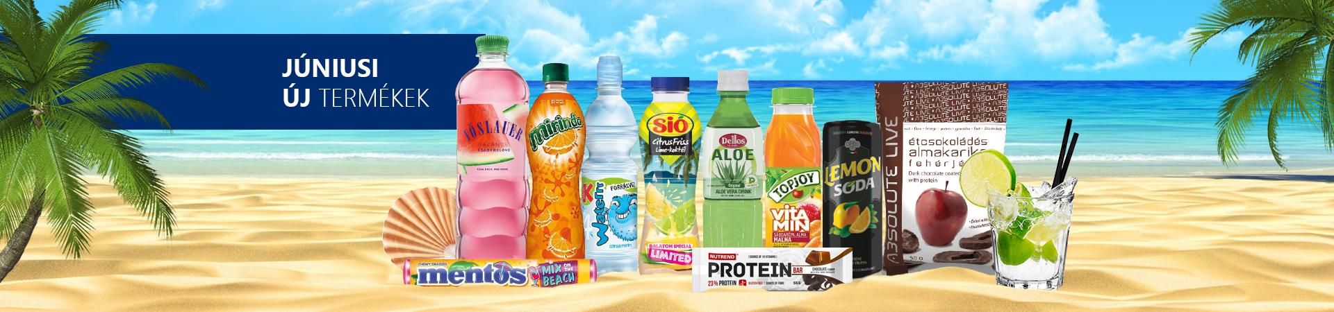 Júniusi új termékek